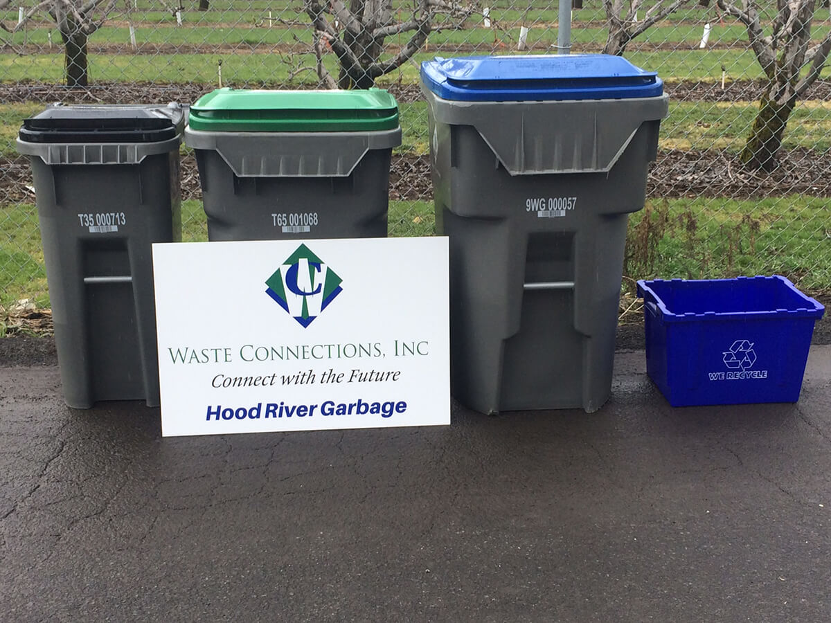 Residential Garbage, Compost, & Recycling | Hood River Garbage