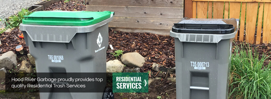 Hood River Garbage proudly provides top quality Residential Trash Services. View our Residential Services.